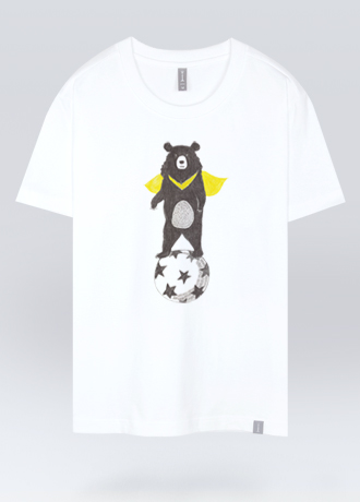 bear soccer ball