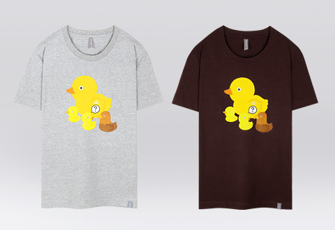 yellow duck + yellow duck (set)