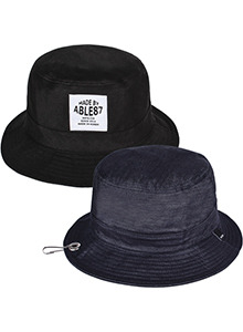 ENGIN FAKE BUCKET HAT(REVERSIBLE)